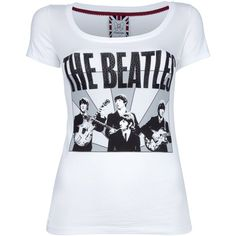 FIX DESIGN 'The Beatles' t-shirt ❤ liked on Polyvore