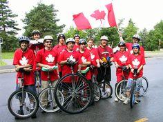 unicycle team