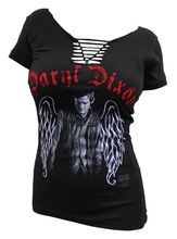 The Walking Dead Daryl Wings T-Shirt - WAAANT