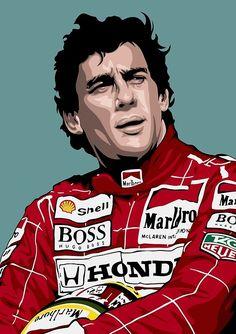 Ideas Sport Art Ayrton Senna For 2019 F1 Racing, Drag Racing, Sports Bra Outfit, Formula 1 Car, Sport Inspiration, Sports Wallpapers, Sport Body, Indy Cars, Sports Art