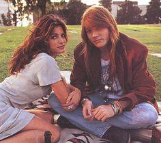 Axel Rose & Stephanie Seymour