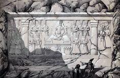 Relief_Fath_Ali_Shah_and_his_son_by_Eugène_Flandin.jpg (2592×1700)