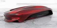 Maglev Technology: VW Torrenta by Ruoyu Chen and Opel Alcyone by Maya Markova Car Design Sketch, Car Sketch, Hover Car, Speed Form, Design Autos, Mexico 2018, Markova, Flying Car, Futuristic Cars
