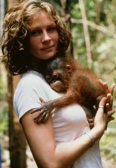 "Julia Roberts and friend :) I can still hear her laugh in this movie: ""... he's peeing down my neck!"""