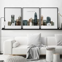 Dallas set prints, Dallas prints wall art set of Triptych of Dallas, set of posters, 3 piece wall art, ArtPrintsVicky World Map Wall Art, World Map Poster, Map Posters, All Poster, Travel Posters, 3 Piece Wall Art, Wall Art Sets, Large Wall Art, Kansas City Skyline