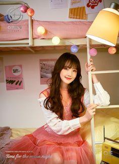 GFriend Yerin - Time for the Moon Night Kpop Girl Groups, Korean Girl Groups, Kpop Girls, Extended Play, Gfriend Album, Nights Lyrics, Oppa Gangnam Style, Rapper, Gfriend Sowon