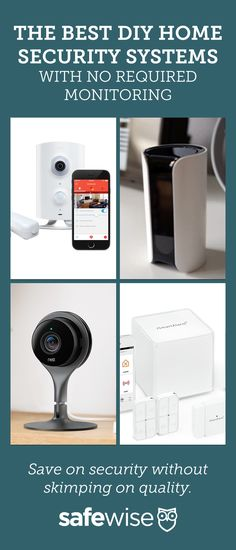 Save on security without skimping on quality.! Secure your home affordably  with DIY home