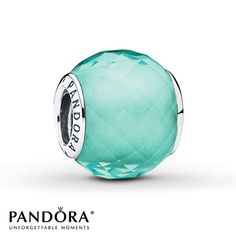 PANDORA Charm Green Petite Facets Sterling Silver - $40.00