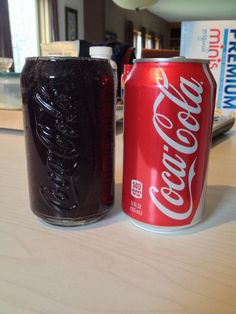 This glass that holds EXACTLY one can of Coke.   The 31 Most Pleasurable Things That Have Ever Happened