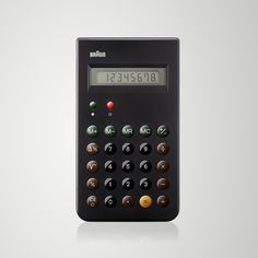 Braun ET66 calculator