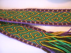 Inkle Weaving, Card Weaving, Tablet Weaving, Finger Weaving, Loom Knitting, Fiber Art, My Favorite Things, Projects, Band