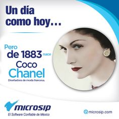 Un día como hoy, 19 de agosto, pero de 1883 nace Coco Chanel, diseñadora de moda francesa.