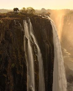 By @marselvanoosten Victoria Falls Zambia | visit his gallery for more of his amazing photography @marselvanoosten by awesome.photographers