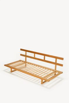 Danish Oak Sofa Daybed by Borge Mogensen for Fredericia Stolefabrik 2