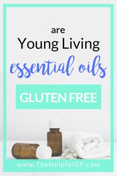 Are Young Living essential oils gluten-free and safe for people with gluten intolerances and wheat allergies? What about Young Living's blends, roller oils, supplements, cosmetics/make-up, skin & hair care, and other products? This is my full review.  Plus, diffuser suggestions, a link to directions on how to order the starter kit and tips for using each oil in the starter kit. #youngliving #glutenfree #essentialoils