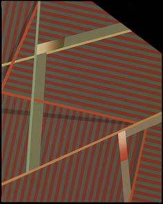 alfiusdebux:  Tomma Abts, Menk, 18.9 x 14.96 in., acrylic & oil on canvas, 2009 by JesPatMart on Flickr.