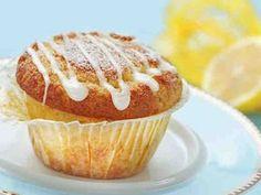 Sitruunamuffinit 2 Cupcake Recipes, Dessert Recipes, Desserts, No Bake Cake, Deli, Food To Make, Muffins, Food And Drink, Cupcakes