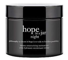 {Best Night Treatment Nominee} philosophy hope in a jar night