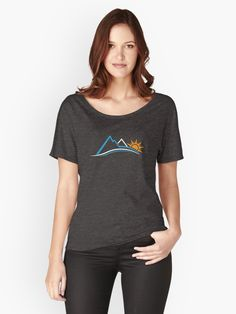 e7912646a7  Mountains and Sun Life are  Graphic T-Shirt Dress by Friendesigns Atheist