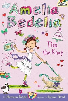 Amelia Bedelia's aunt Mary has been popped the question, and now Amelia Bedelia has a beach wedding to help plan! But there will be plenty of hitches before Aunt Mary and her fiancé Bob can get hitched: a broken bridge, a mysterious woman, a captain who falls ill, a ripped wedding dress, and even a lost ring.