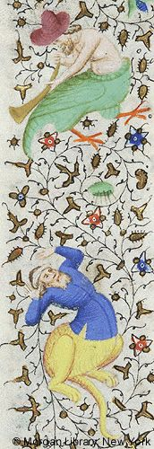 Book of Hours, MS M.1004 fol. 170v - Images from Medieval and Renaissance Manuscripts - The Morgan Library & Museum