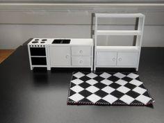 Puppenstuben - Kücheneinrichtung für die Puppenstube, 1: 12 - ein Designerstück von Stoffideen-GP bei DaWanda