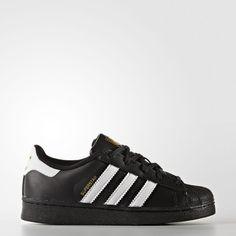 100% authentic 39dee 1c308 adidas Superstar Foundation Shoes - Kids Shoes Schwarze Adidas, Superstars  Schuhe, Adidas Männer,
