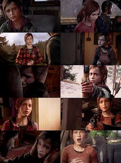 Ellie of The Last of Us. She is a fourteen-year-old survivor who is mature beyond her years as a result of her environment's circumstances. Contrary to being a child, She is a force to be reckoned with.