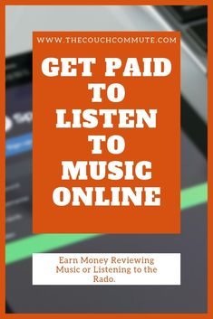 Get paid to listen to music. That's right, you can earn money online just by li… Get paid to listen to music. That's right, you can earn money online just by listening to music. Ways To Earn Money, Earn Money From Home, Make Money Fast, Way To Make Money, Online Earning, Earn Money Online, Online Jobs, Money Plan, Pocket Money
