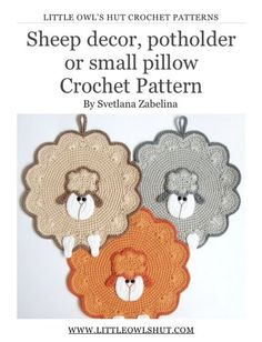 crochet pot holders free patterns - Google-søk