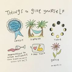 Love this! Self care.