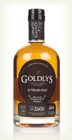 Goldlys 12 Year Old Belgian Whiskey
