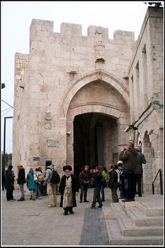 Jerusalem - inside Jaffa Gate
