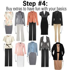 Building a Work Wardrobe: Step 4 of 5