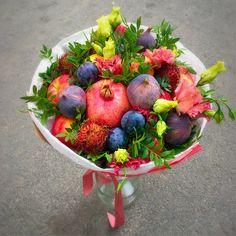 Фотографии Пан Баклажан. Вкусные букеты из овощей и фруктов