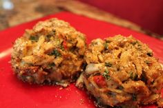 Spicy Crab Cakes with Horseradish Mayo