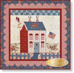 Little Garden House in Summer Quilt Pattern by Shabby Fabrics