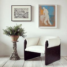 Roll Over   Distinct 1980s high contrast lounge chair along with a few other one-of-a-kind defining products.
