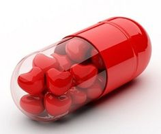 """""""Heart medicine""""... make with 2 bottoms of 2-liter soda bottles... spray one red... add goodies... hot glue together & cover with decorative ribbon... add tag """" Your the medicine for my heart!"""""""