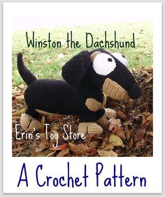 Winston the Dachshund and His Friends A 3-in-1 Crochet Pattern by Erin Scull