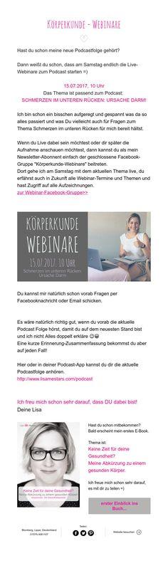 Körperkunde - Webinare