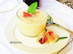 Blog de cuina de la dolorss: Crema de melón con vermut y jamón