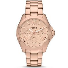 Brand New Fossil Watch Women's Ladies Rose Gold Stainless Steel Bracelet AM4511