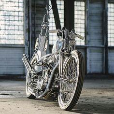 Harley Davidson Panhead, Harley Bobber, Chopper Motorcycle, Bobber Chopper, Bobber Bikes, Motorcycle Design, Vintage Motorcycles, Custom Motorcycles, Custom Bikes