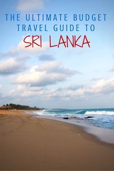 Sri Lanka. Empty beaches and crowded cities. Terraced tea plantations and wild…