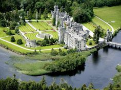 Ashford Castle is a medieval castle turned five star luxury hotel near Cong on the Mayo/Galway border in Ireland, on the shore of Lough Corrib. Ashford Castle is a member of the Leading Hotels of the World organization. Ashford Castle Hotel, Ashford Castle Ireland, Castle Hotels In Ireland, Castles In Ireland, Cong Ireland, Galway Ireland, Lakeside Hotel, Lakeside Cabin, England Ireland