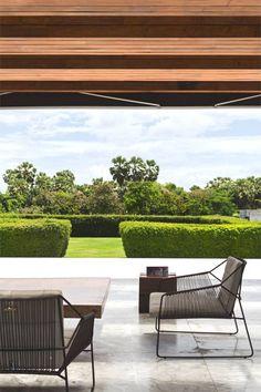 Fauteuil Sandur aussi beau à l'extérieur qu'à l'intérieur #Oasiq #Sandur #fauteuil #outdoor
