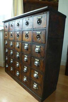 Apothecary chest on pinterest apothecaries drawers and for Apothecary table