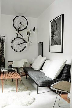 Home House Interior Decorating Design Dwell Furniture Decor Fashion Antique Vintage Modern Contemporary Art Loft Real Estate NYC Architecture Inspiration New York YYC YYCRE Calgary Eames Style At Home, Small Apartment Decorating, Interior Decorating, Decorating Ideas, Sweet Home, Piece A Vivre, Childrens Room Decor, Small Apartments, Home Fashion