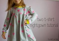 Two T-shirt Nightgown